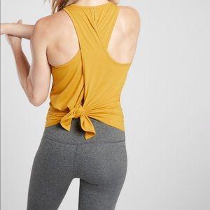Athleta Essence Vital Tie Back Tank 💛